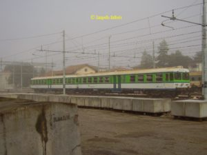 ALn 776 003 FCU noleggiata alle Ferrovie Nord Milano al rientro ad Umbertide il 23 Novembre 2006
