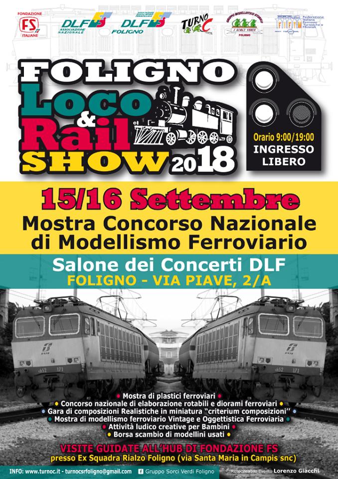 Read more about the article Foligno Loco & Rail Show 2018